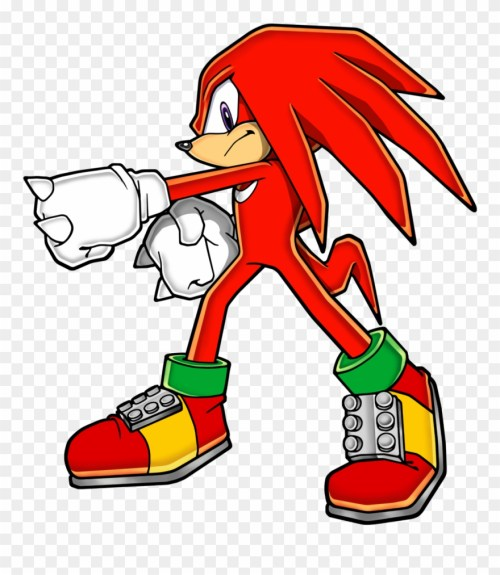 small resolution of echidna clipart porcupine knuckles the echidna pose png download