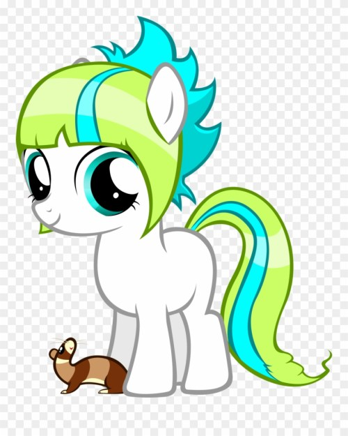 small resolution of ferret my little pony ferret clipart