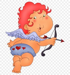 fadas anjos gnomos e etc cupid red hair clipart [ 880 x 980 Pixel ]
