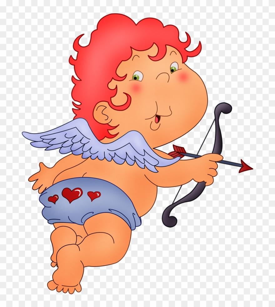 medium resolution of fadas anjos gnomos e etc cupid red hair clipart