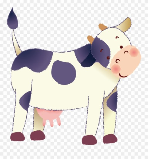 small resolution of dairy cow clipart at getdrawings cattle png download