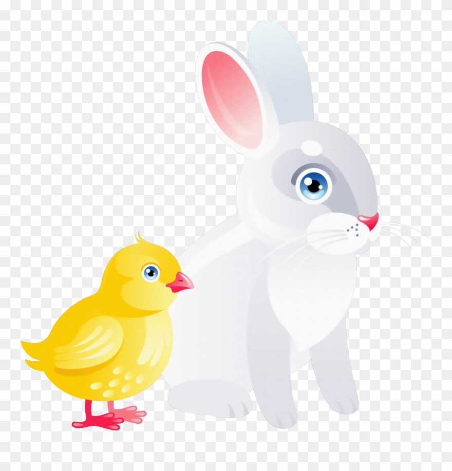 hight resolution of chicken clipart rabbit png download