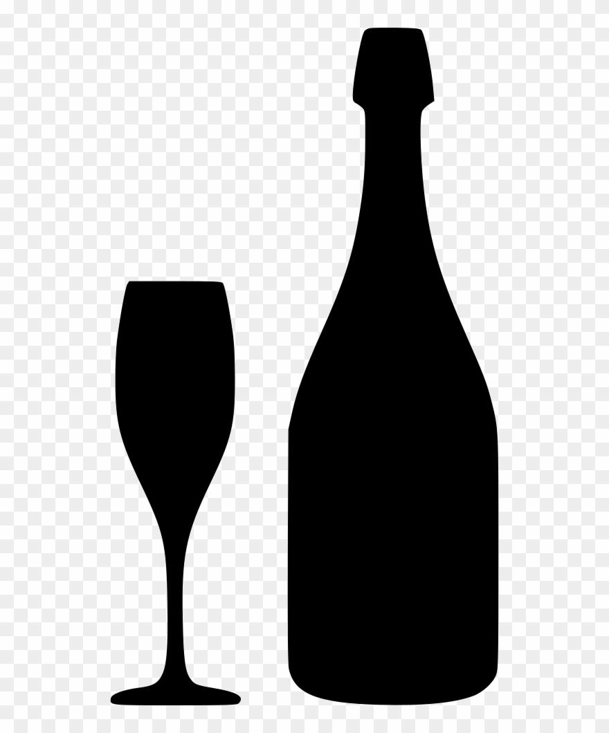hight resolution of download free champagne bottle svg clipart wine glass svg free wine bottle svg png
