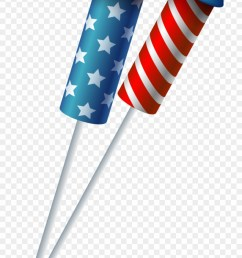 firework clipart rocket flag transparent background firecracker clipart png download [ 880 x 1645 Pixel ]