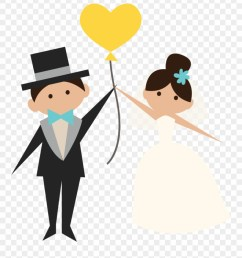 wedding clipart transparent groom and bride png [ 880 x 994 Pixel ]
