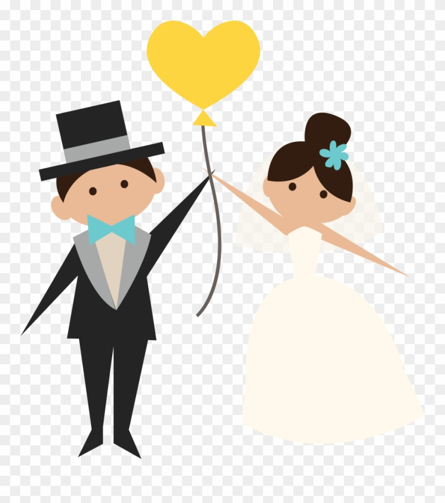 hight resolution of wedding clipart transparent groom and bride png