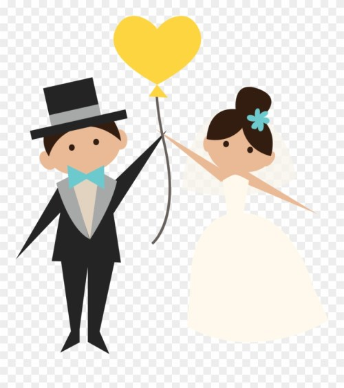 small resolution of wedding clipart transparent groom and bride png