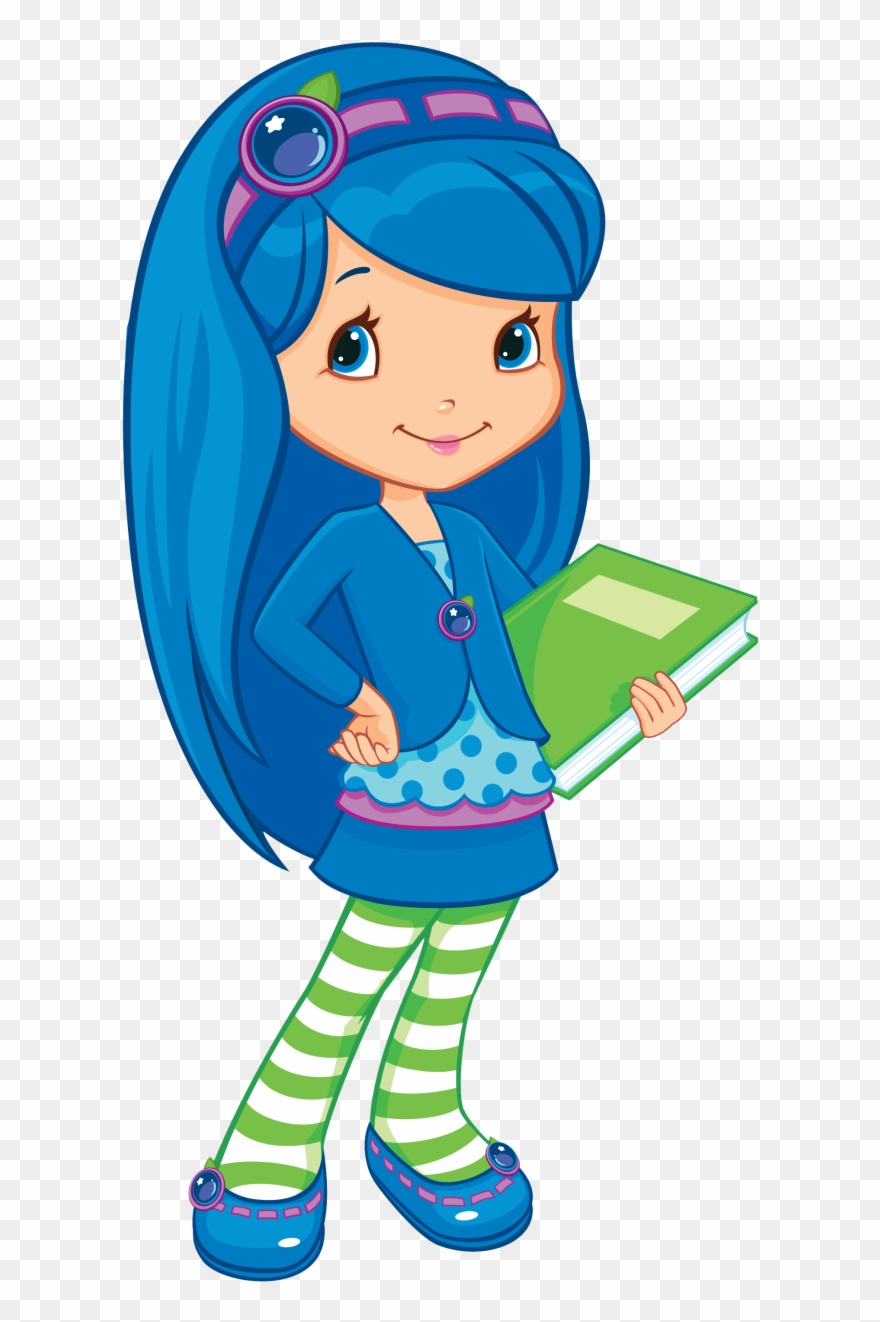 hight resolution of strawberry shortcake characters blueberry muffin clipart