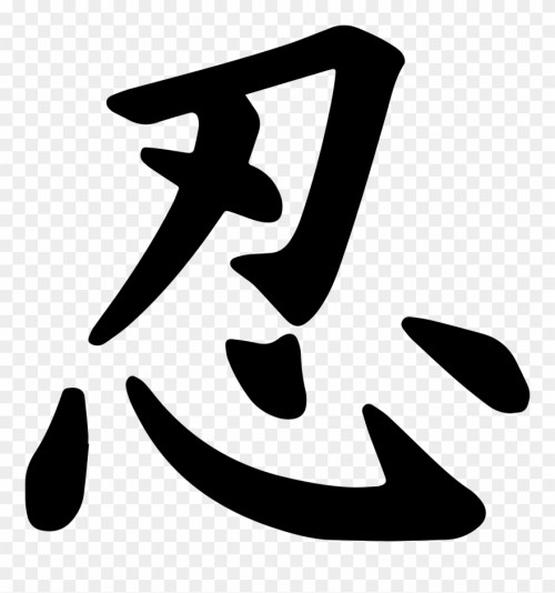small resolution of ninja symbol write ninja in japanese clipart