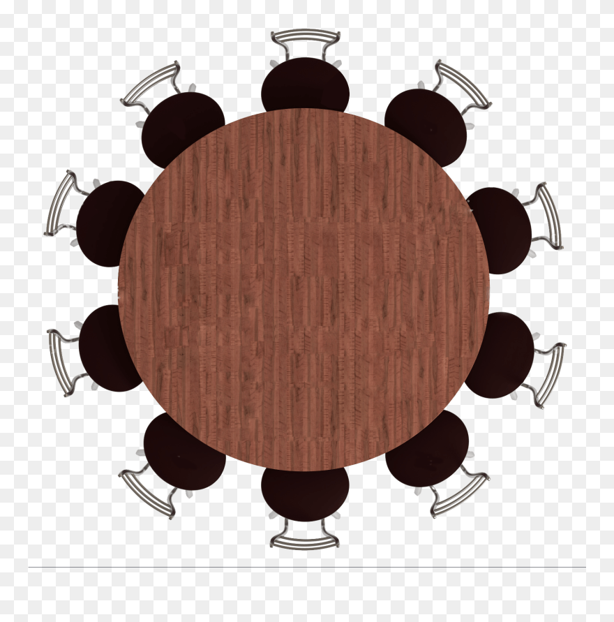 Clipart Castle Dining Room Round Table Top View Png Download 1970862 PinClipart