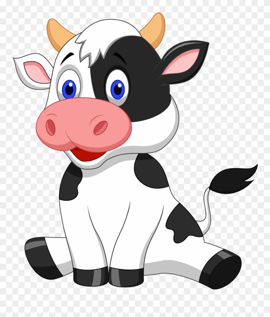 cow clip art transparent