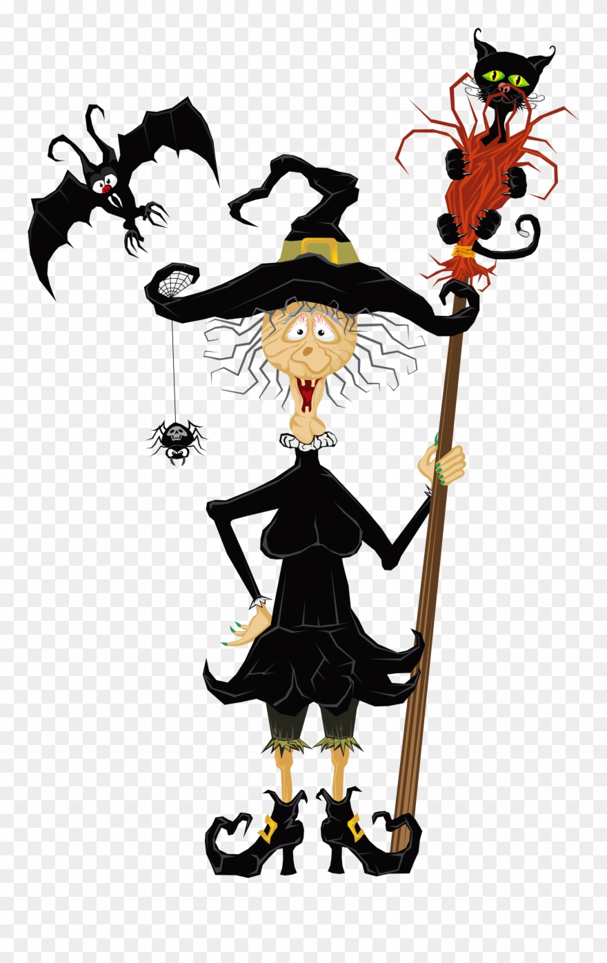 hight resolution of halloween creepy witch clipart witch halloween clip art png download
