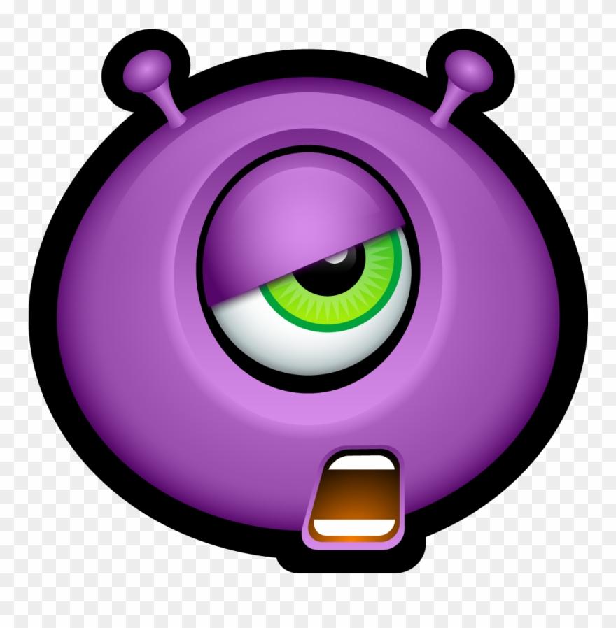 hight resolution of pink eyes clipart halloween monster emojis de halloween png transparent png