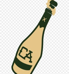 bottle of champagne clipart png download [ 880 x 1117 Pixel ]