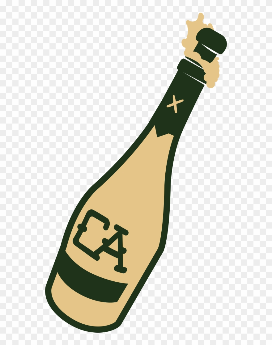 hight resolution of bottle of champagne clipart png download