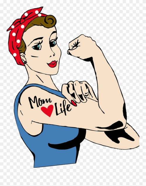 small resolution of hard working mom cartoon clipart