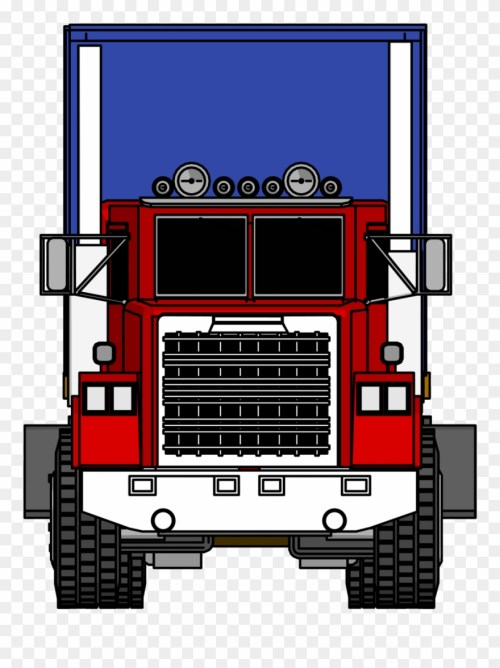 small resolution of trailer fire engine clip art semitrailer transprent front of a big truck png download