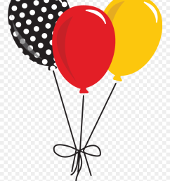 clipart shoes mickey minnie mouse balloons clipart png download [ 880 x 1197 Pixel ]