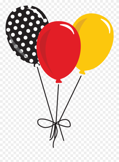 small resolution of clipart shoes mickey minnie mouse balloons clipart png download
