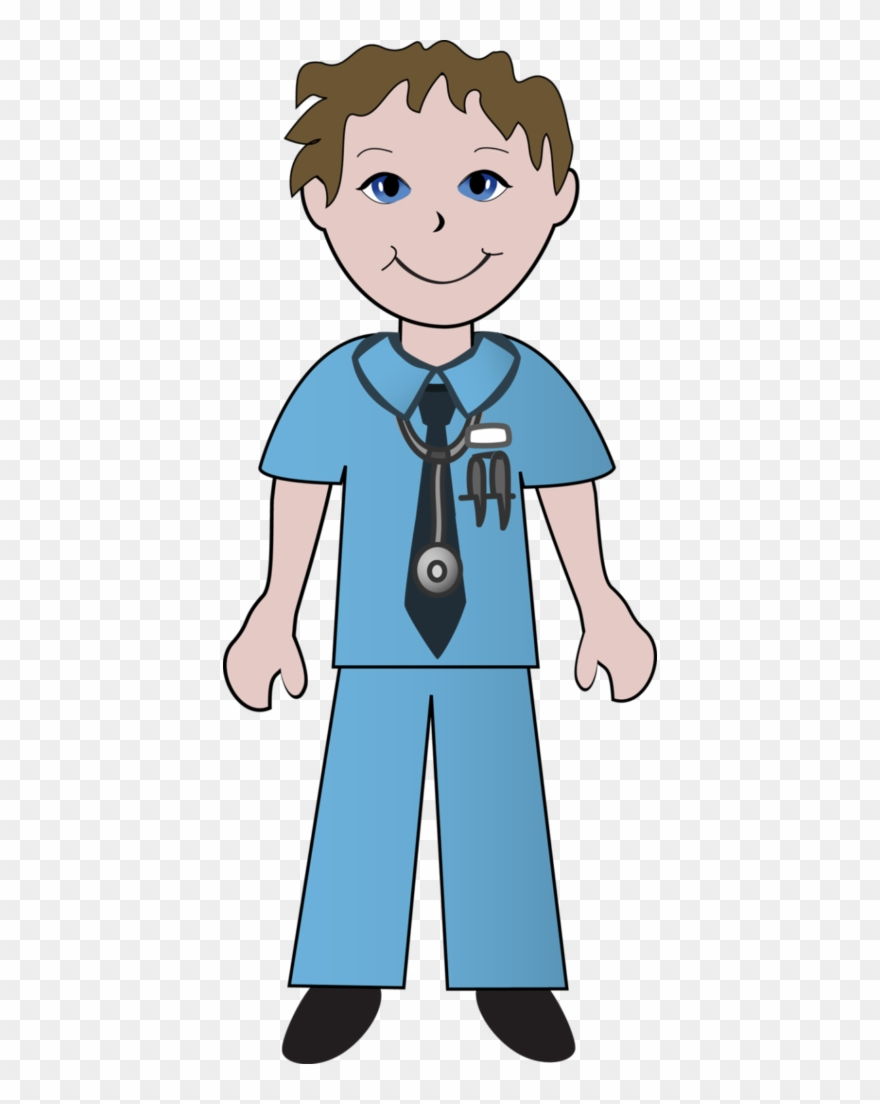 hight resolution of nurse clipart doctors and nurses of male and female nurse clipart png download