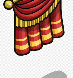 stage curtain sprite 004 clipart [ 880 x 1835 Pixel ]