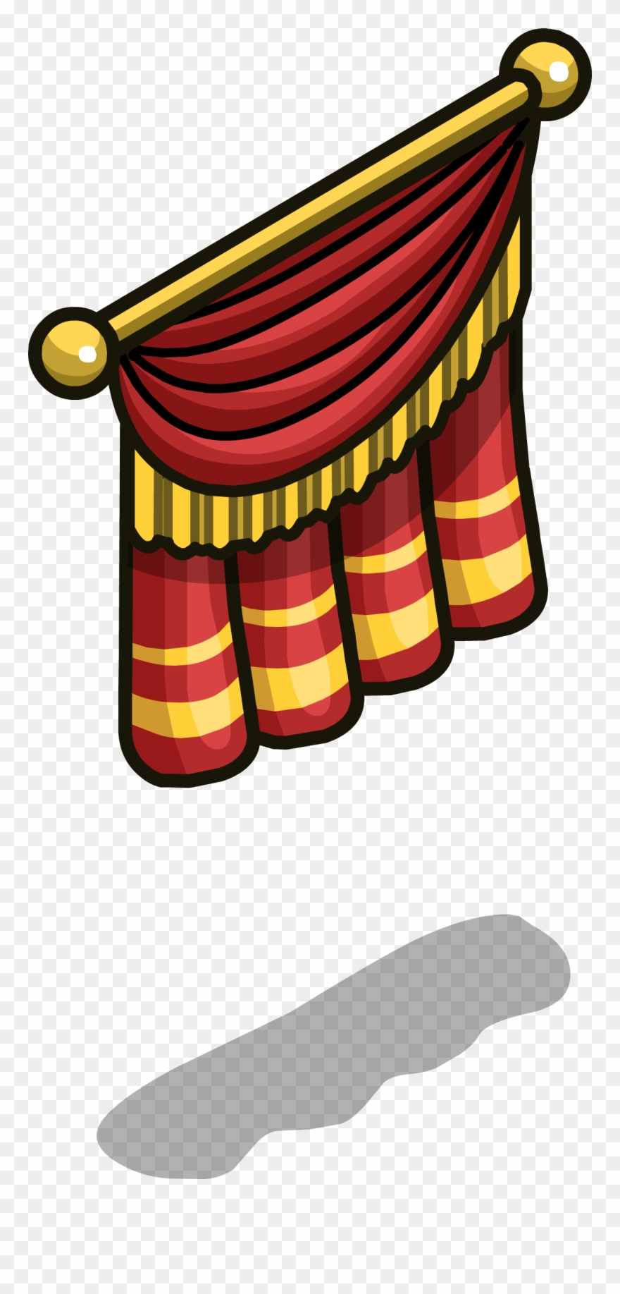 hight resolution of stage curtain sprite 004 clipart
