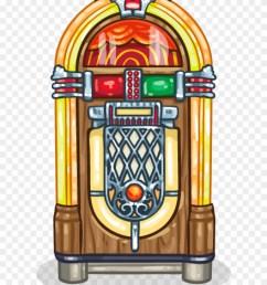 jukebox illustration clipart [ 880 x 1101 Pixel ]
