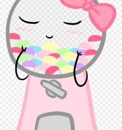 cutie gumball machine pastel candy pink candy green kawaii machine clipart [ 880 x 1356 Pixel ]