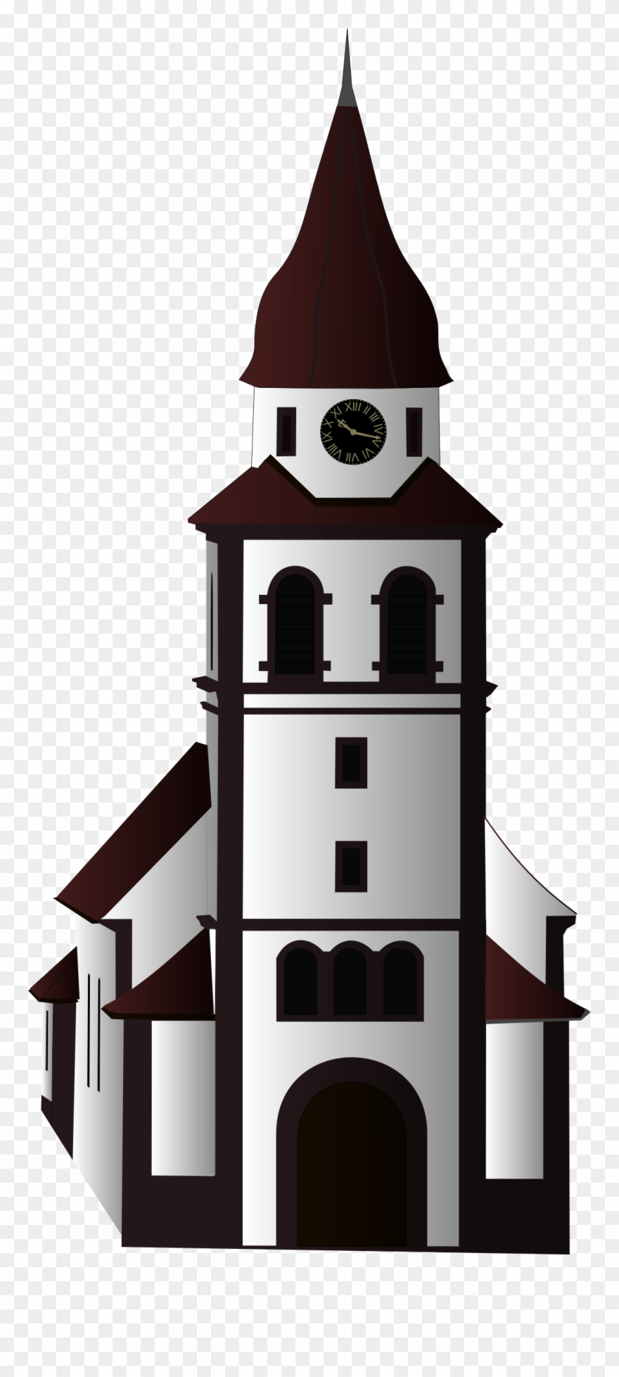 hight resolution of clock clipart church thank you for church musician card png download