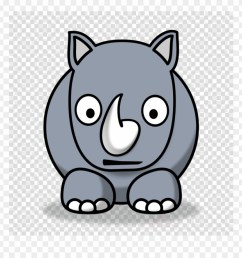 rhino clipart rhinoceros clip art png hippo clipart transparent png [ 880 x 920 Pixel ]