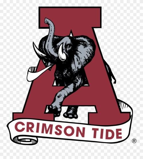 small resolution of alabama crimson tide logo png transparent clipart