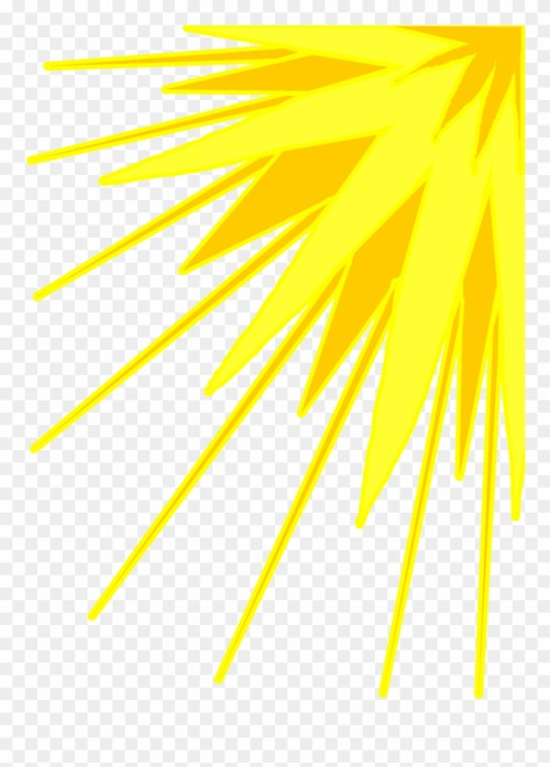 small resolution of yellow sun rays png clipart