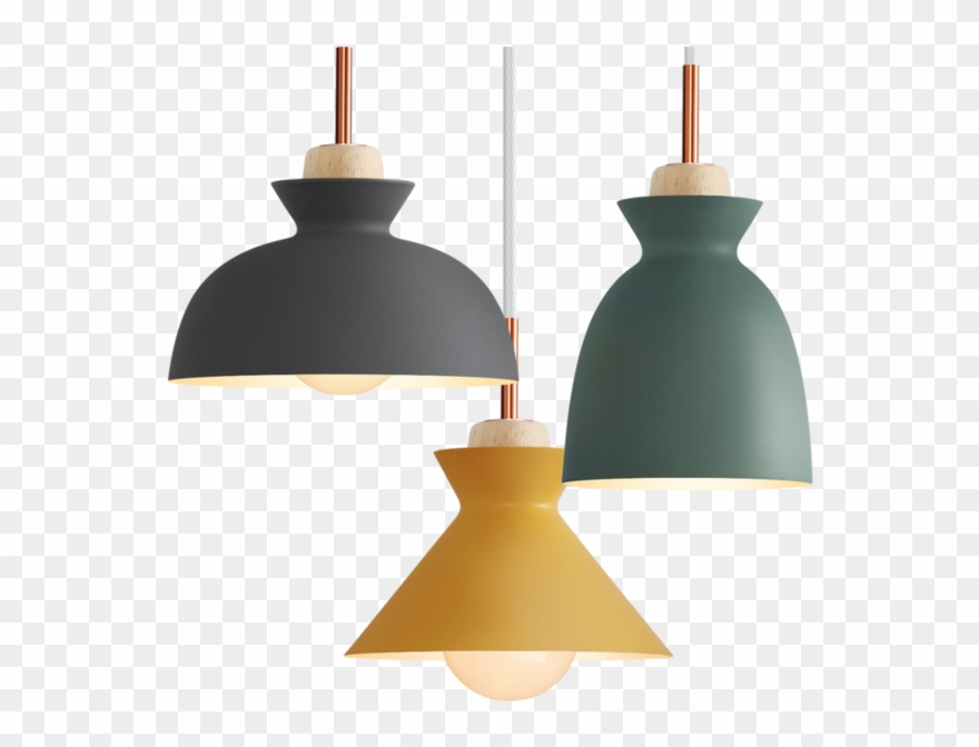 Fashion Creative Modern Wood Colorful Pendant Lights Clipart 2269467 Pinclipart