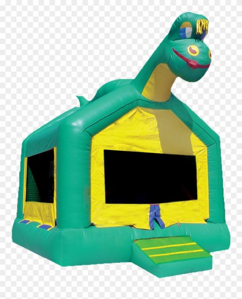 small resolution of dinosaur bounce house rental clipart