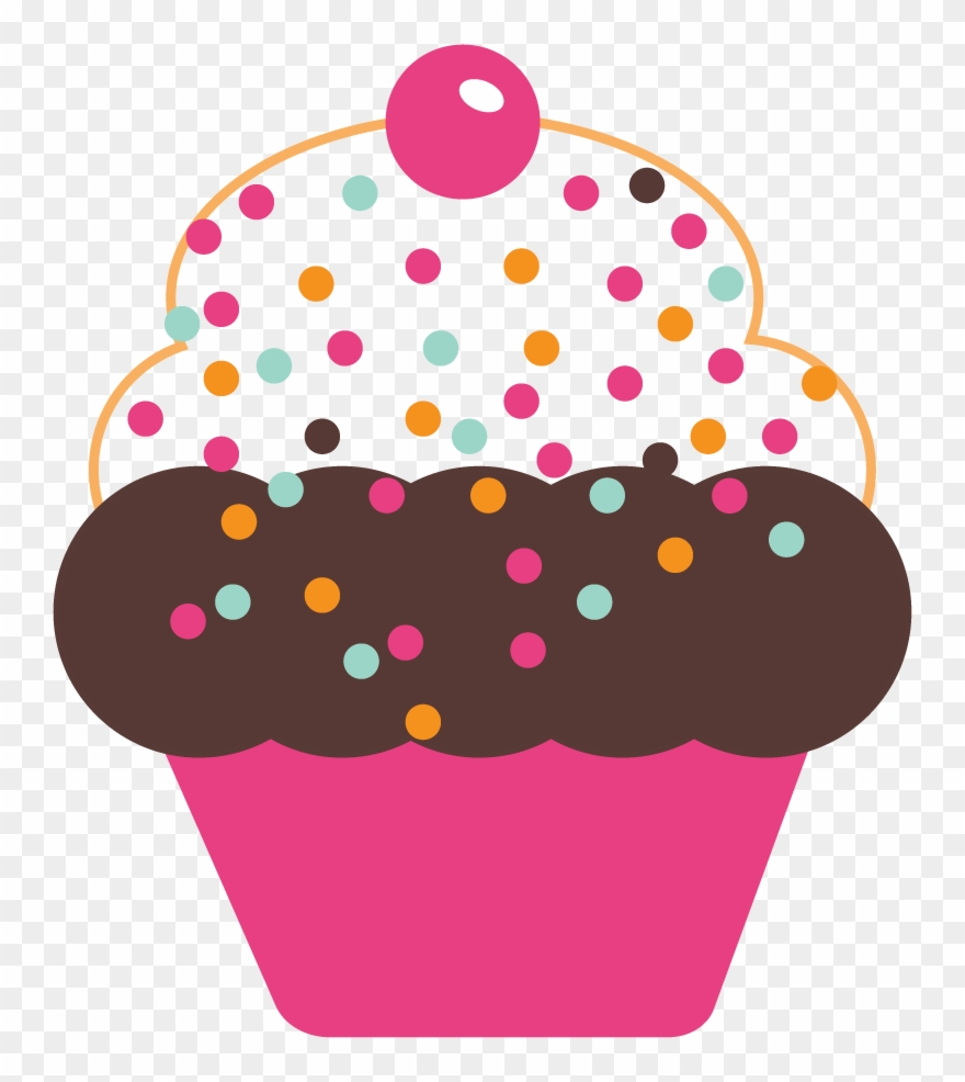 Free Cute Cupcakes Graphics Cute Cupcake Clipart Png Transparent