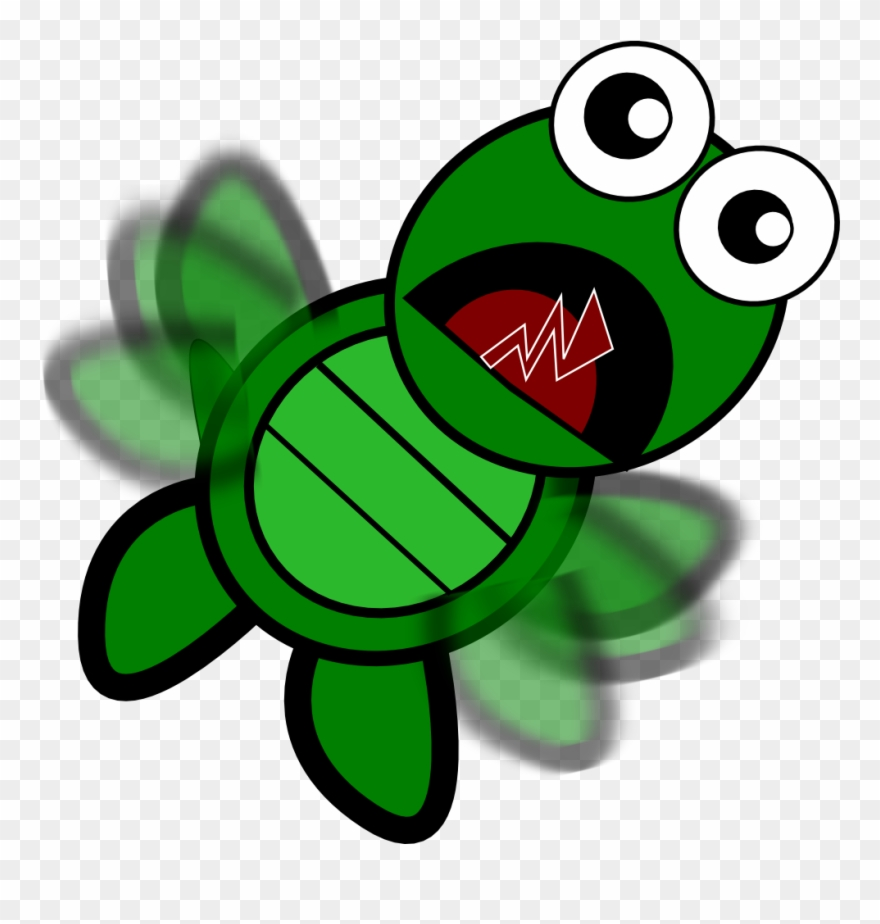 hight resolution of turtle falling clipart png download