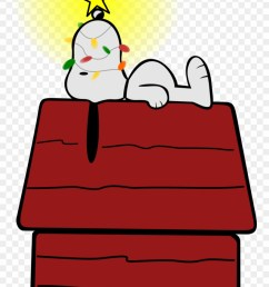 snoopy on doghouse cookie jar 59 clip art snoopy christmas png download [ 880 x 1564 Pixel ]