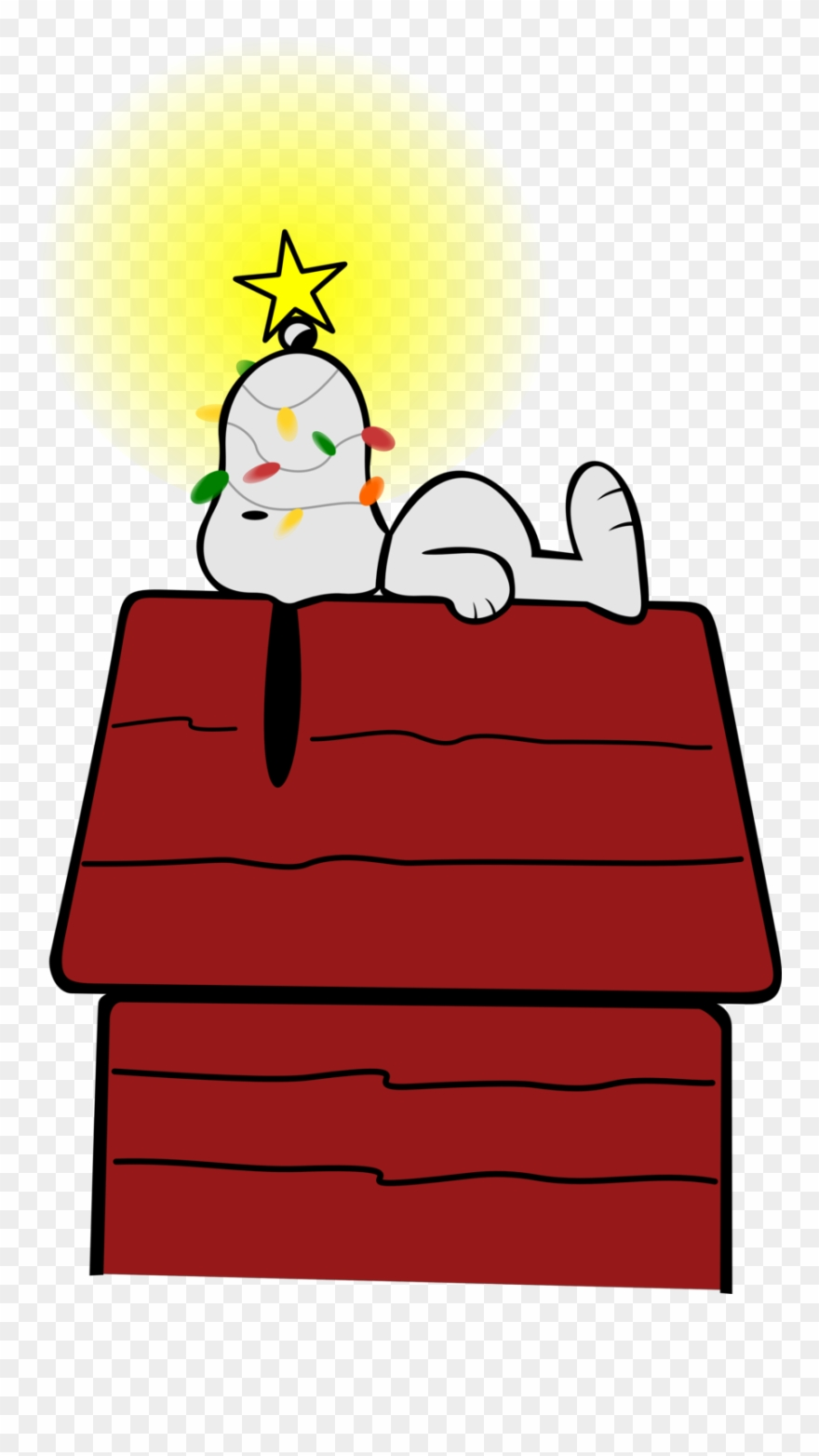 hight resolution of snoopy on doghouse cookie jar 59 clip art snoopy christmas png download