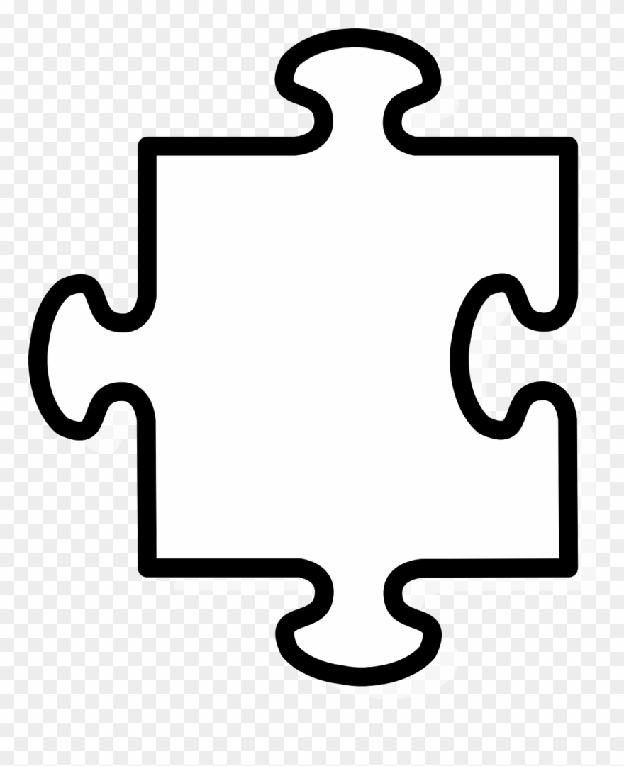 hight resolution of puzzle piece outline jigsaw piece clip art png download