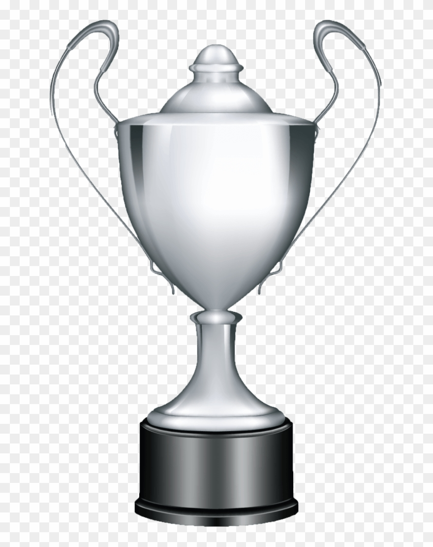 hight resolution of silver trophy clipart