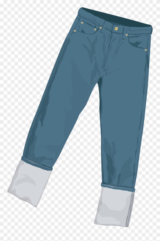 jeans denim trousers clipart