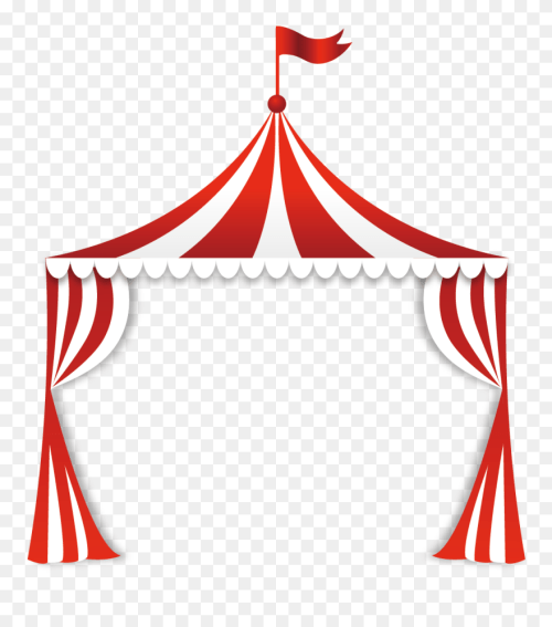 small resolution of circus tent clip art circus tent top clipart png download