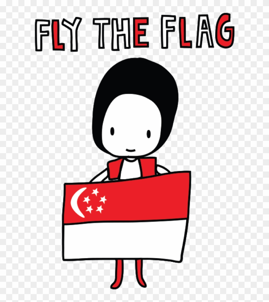 medium resolution of singapore flag clipart snow singapore national day clipart png download