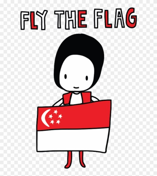 small resolution of singapore flag clipart snow singapore national day clipart png download