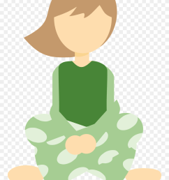 girl in sitting cross legged big image girl sitting cross legged clipart png download [ 880 x 1263 Pixel ]