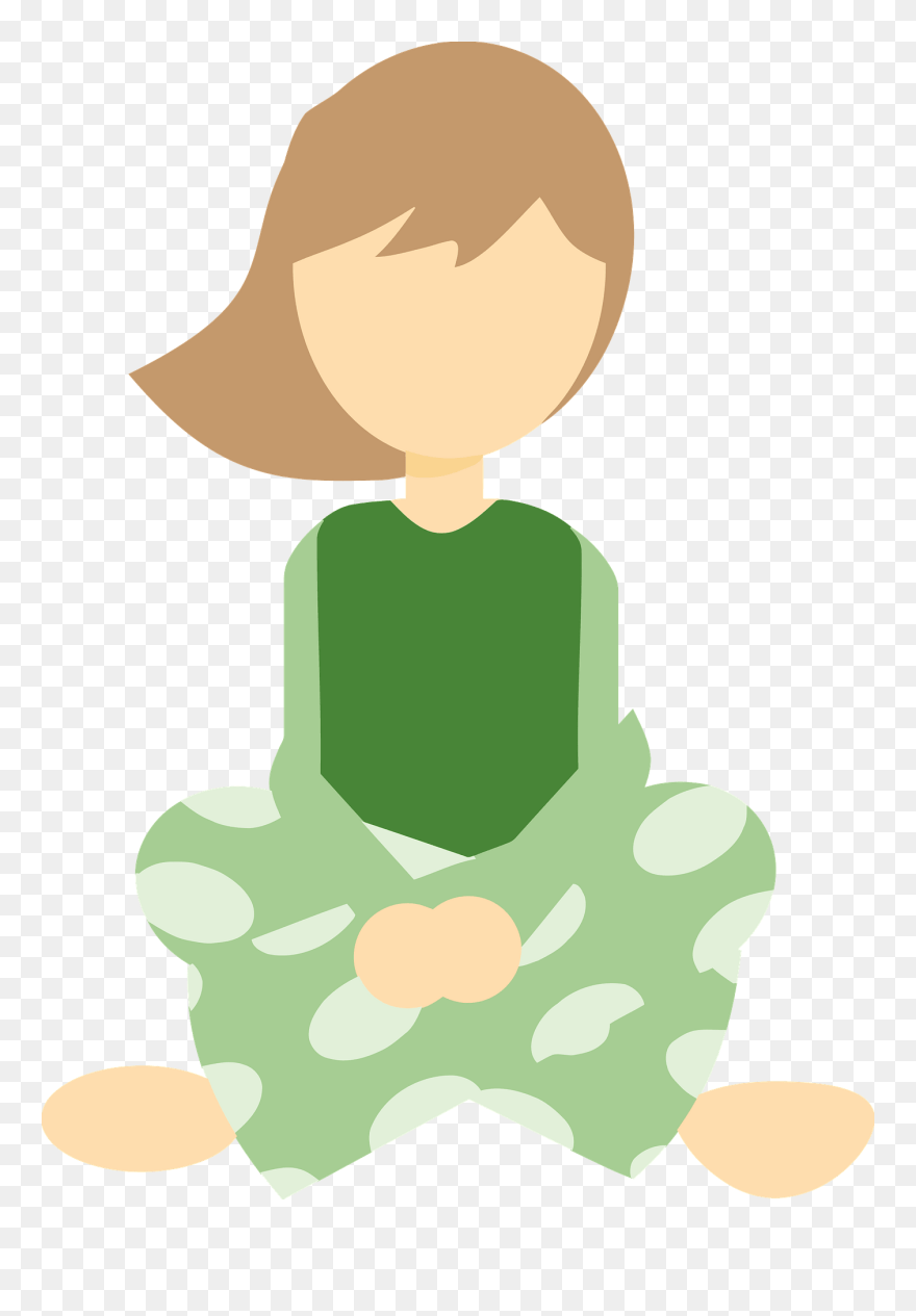 medium resolution of girl in sitting cross legged big image girl sitting cross legged clipart png download