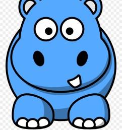 hippopotamus blue x dumielauxepices cartoon hippo clipart [ 880 x 1126 Pixel ]