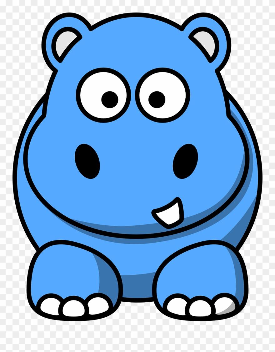 medium resolution of hippopotamus blue x dumielauxepices cartoon hippo clipart