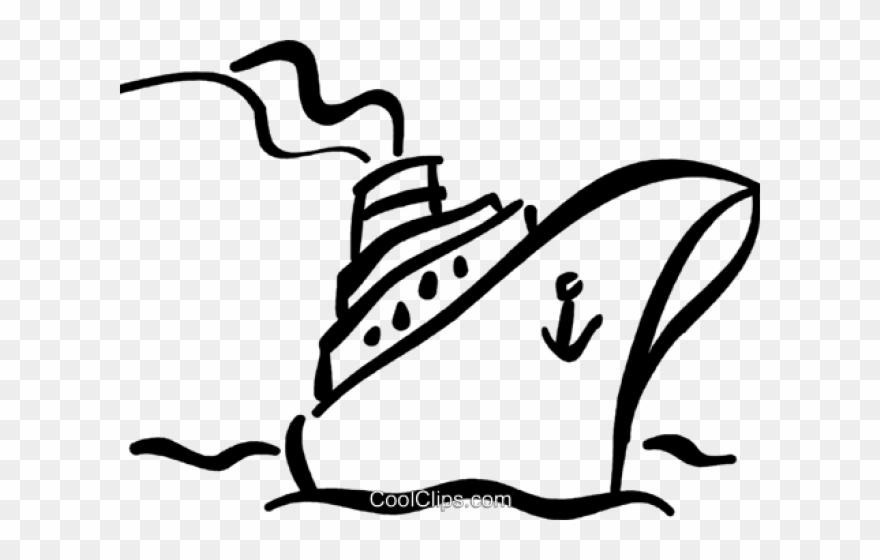 cruise ship outline clip
