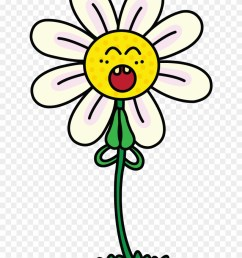 drawing cactus fun2draw picture free stock cute daisy flower cartoon clipart [ 880 x 1184 Pixel ]